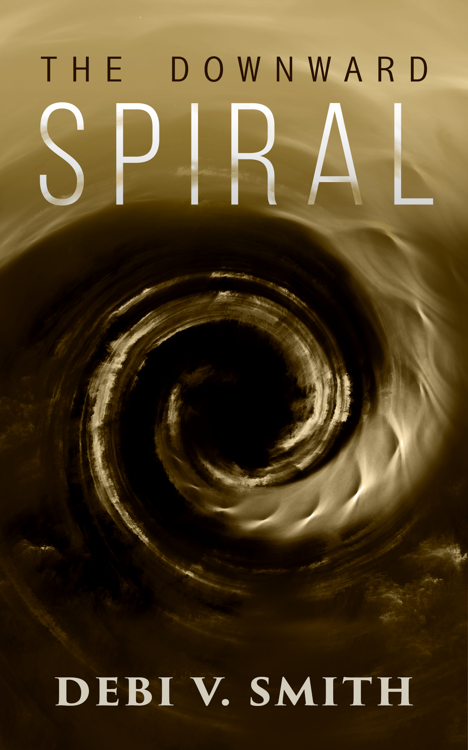 TheDownwardSpiral.bebas+Serif
